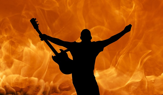 Music and fire